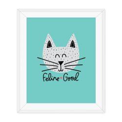 cat print, funny cat print, cat print, kids room
