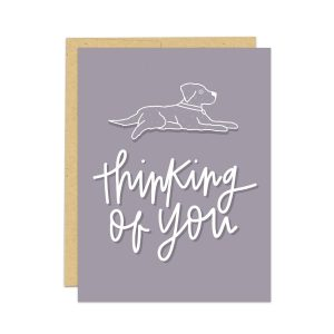 pet sympathy card, dog sympathy card, thinking of you card