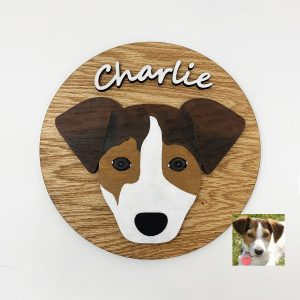 jack russell sign, jacjk russell gifts, custom dog sign, custom pet portrait, custom dog wood sign, custom dog gifts