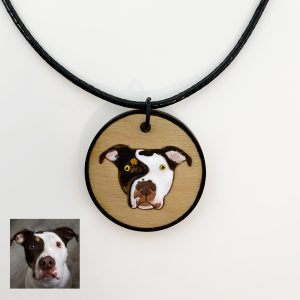 custom pit bull necklace, pit bull jewelry, pit bull gifts
