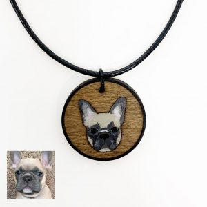 custom french bulldog necklace, french bulldog jewelry, french bulldog gifts