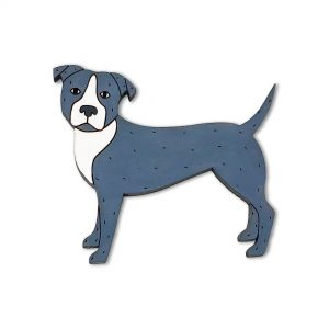 pit bull pin or magnet